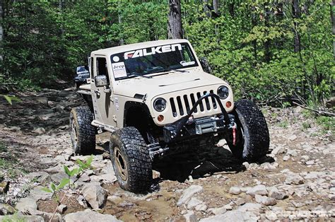 jeep jk rock crawler falken jk recon extreme rock crawler