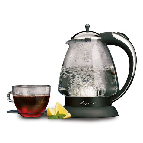 tea kettle kettles water electric glass whistling rated capresso plus h20 looking