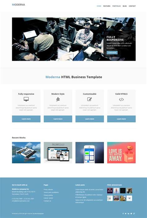 free bootstrap templates 30 bootstrap website templates free