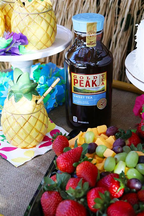 Easy Summer Entertaining Ideas With Gold Peak ® And Sam's