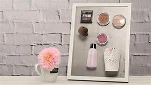 Magnettafel Selber Machen : magnettafel selber machen f r deine make up aufbewahrung ~ Orissabook.com Haus und Dekorationen