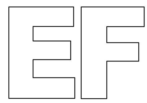 espa 199 o educar moldes de letras do alfabeto em tamanho