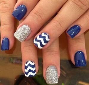 40 Blue Nail Art Ideas - For Creative Juice