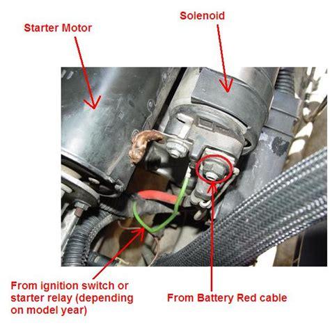 starter wiringdifferences     volvo