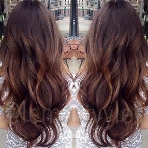 Natural Balayage Highlights Brown Hair