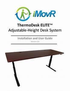 Thermodesk Elite Adjustable