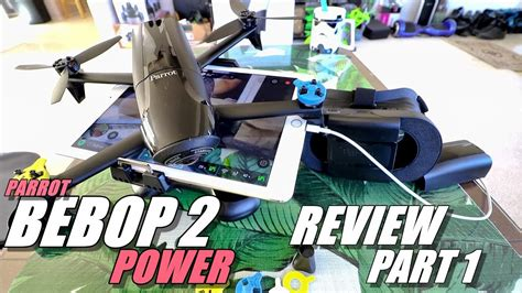 parrot bebop  power edition review part  unboxing inspection setup updating youtube