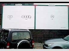 Audi vs Mercedes AdPitch Blog