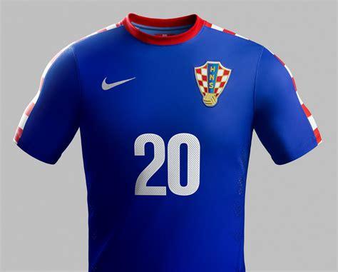 Croatia World Cup Home Away Kits Released Footy