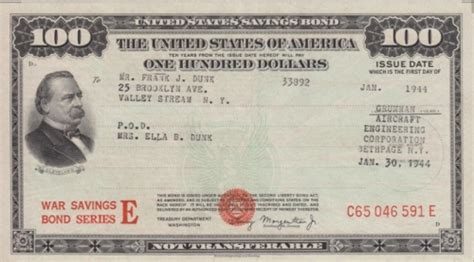 series  savings bond museum  american finance