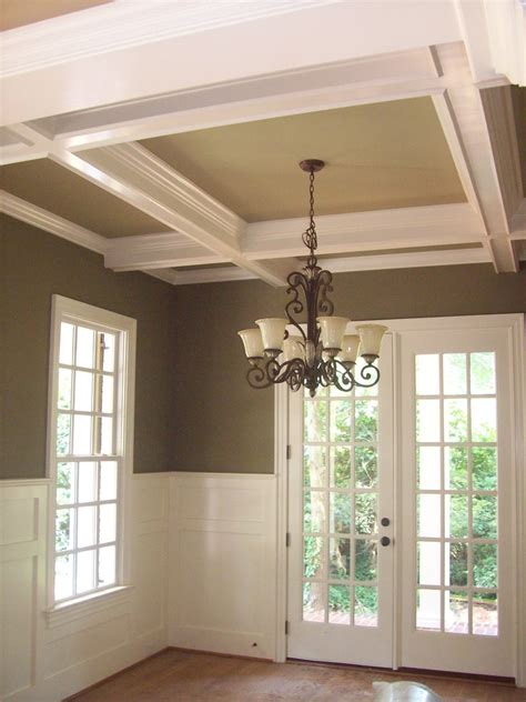 coffered ceiling images  pinterest home ideas