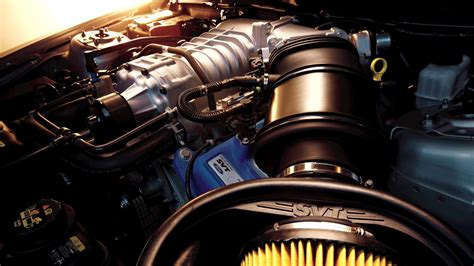 Shelby Gt500 V8 Engine Engines Muscle Cars Wallpaper