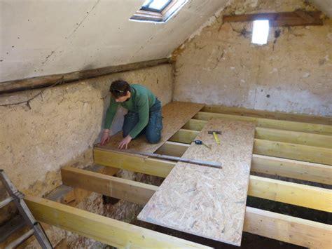 pose du plancher de la cave carnet de chantier au f 233 minin