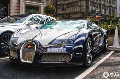 Bugatti Veyron 16.4 Grand Sport L'Or Blanc - 13 April 2013 ...