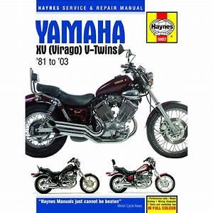 Aw Motorcycle Parts  Workshop Manual Yamaha Xv535  Xv700