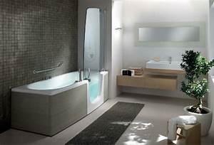 Dusche Und Badewanne Kombiniert : badewanne mit t r aktuelle vorschl ge ~ Markanthonyermac.com Haus und Dekorationen