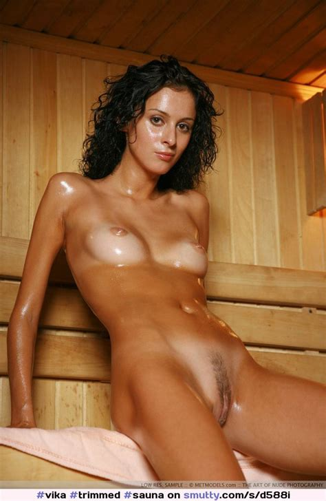 Vika Trimmed Sauna Flatchest Smutty Com