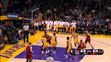 cleveland cavaliers  los angeles lakers january