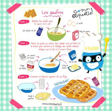 recette de cuisine pour les enfants recette de gaufres