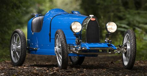 The child mode allows the car to generate 1.3 horsepower only and achieve a top speed of 20 km/h (12 mph). Bugatti Baby II Childrens Car | HiConsumption