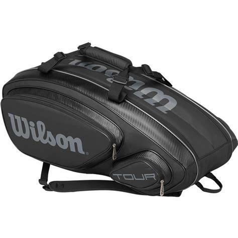 wilson    pack tennis bag black