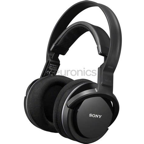 sony wireless headset wireless headphones sony mdrrf855rk eu8