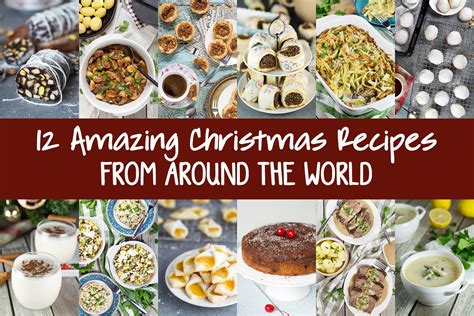 amazing christmas recipes    world