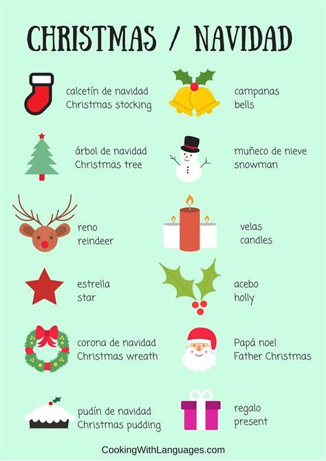 spanish christmas traditions christmas vocabulary