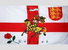 ENGLAND ST GEORGE CHARGER 5 X 3 FLAG