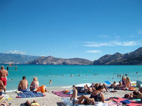 Dubrovnik Spiagge Vicino Al Porto by La Spiaggia Di Baska Viaggi Vacanze E Turismo Turisti