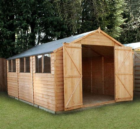 15 x 10 windsor overlap modular workshop what shed