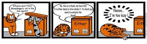 Cartesian Closed Comic #4: Schrödinger's cat