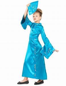 Geisha Kostüm Kinder : bezauberndes geisha kinder kost m blau g nstige faschings kost me bei karneval megastore ~ Frokenaadalensverden.com Haus und Dekorationen