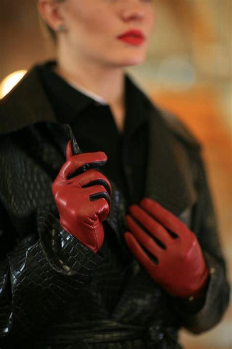 les gants en cuir accessoire et n 233 cessit 233 pour votre style