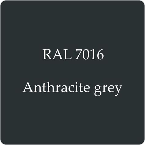 black garage doors ral 7016 high quality german paint anthracite grey 2l with