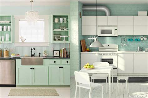 d馗o mur cuisine osez la déco menthe à l eau maison créative