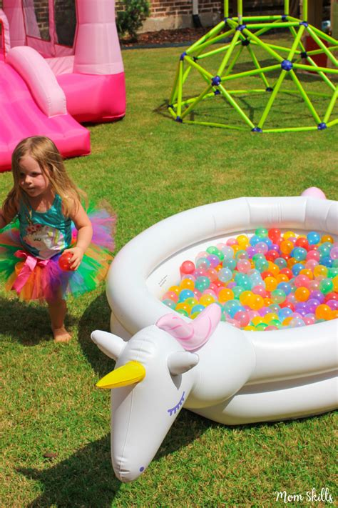 unicorn party ideas rainbows galore