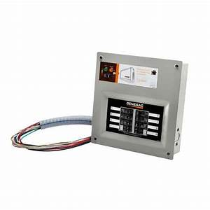 Generac Homelink 50 Amp Manual Transfer Switch For