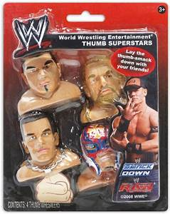 WWE Thumb Wrestling Super Stars: Rey Mysterio, Triple H ...