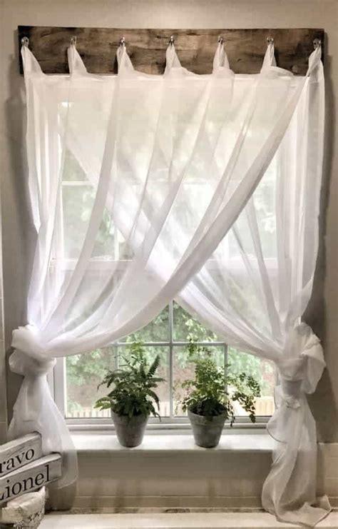 simple farmhouse window treatments maria louise design