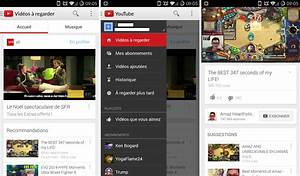 Youtube Abmelden Android : youtube l 39 application android passe la version 6 0 et rajeunit consid rablement frandroid ~ Eleganceandgraceweddings.com Haus und Dekorationen