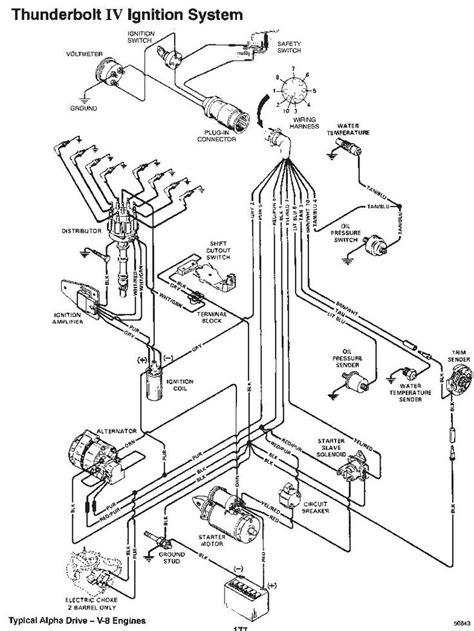 1989 Mercury Wiring Diagram by 5 7 Mercruiser Starter Wiring Diagram Wiring Diagrams