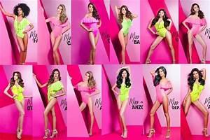 Miss Earth Venezuela 2017 beauties slaying the Swimsuit ...