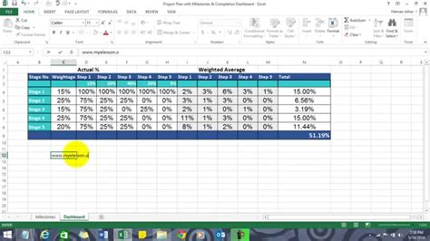 create project plan  excel youtube