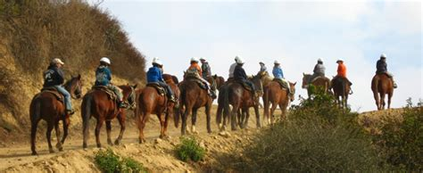 horseback riding  los angeles cbs los angeles