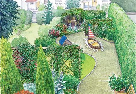 Ideen Garten Aufteilung by Pfiffige Aufteilung F 252 R Ein Handtuch Grundst 252 Ck Vorher