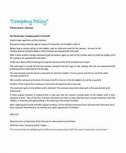 policy template 10 free word pdf document downloads With it policy document template