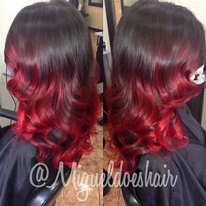 Copper Red with Peek-a-boo Blonde - Hair Colors Ideas