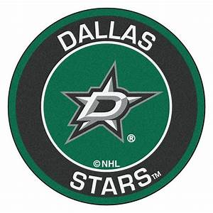 FANMATS NHL Dallas Stars Black 2 ft 3 in x 2 ft 3 in