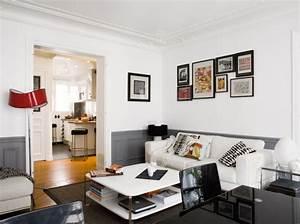 amenagement un 50m2 design et fonctionnel With meubler un petit appartement 8 chambre salon amenagements astucieux pour petits espaces
